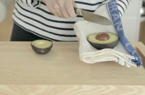 How to destone an avocado