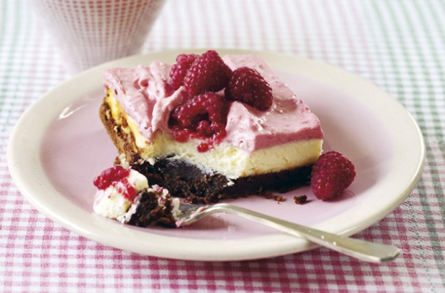 Hummingbird Bakery raspberry cheesecake brownie