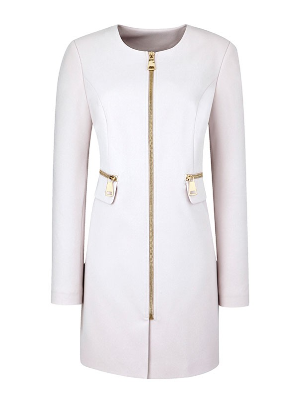 Zip Detail Coat, £80