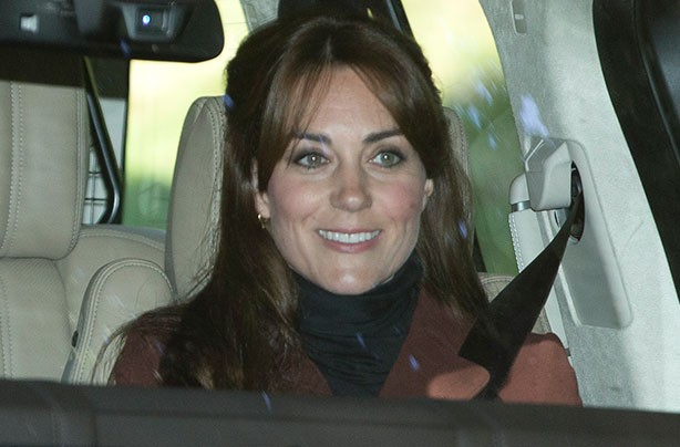 Kate Middleton gets a fringe