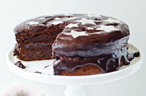 Gluten-free and dairy-free chocolate cake