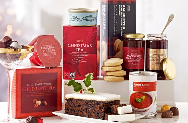 Christmas food hampers 2016 under �30