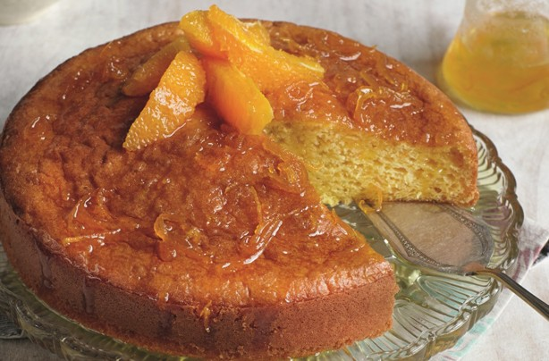 Slimming World's Spanish orange cake