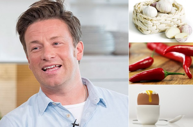 Jamie Oliver names the 14 'hero' foods