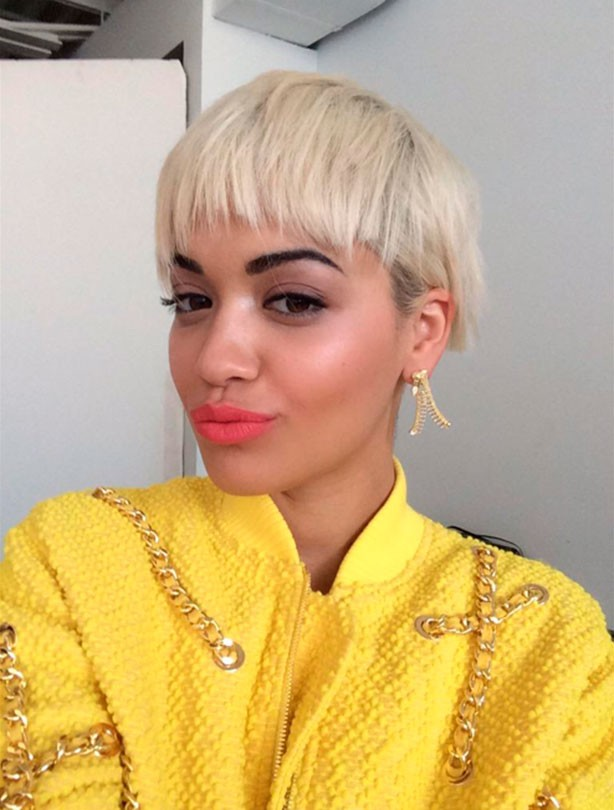 Rita Ora shows off new hairstyle