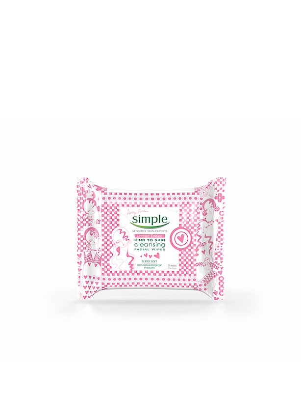 Simple Holly Fulton Cleansing Facial Wipes,