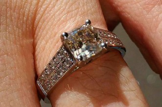 Chris Gogglebox engagement ring
