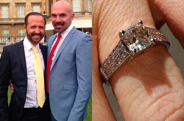 Chris Gogglebox engagement ring