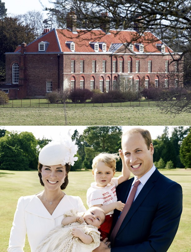 Flying restriction over Kate and Wills' Anmer Hall