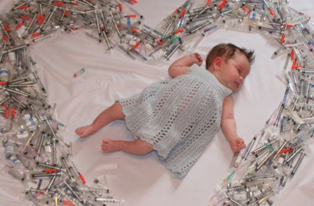 Viral IVF baby image