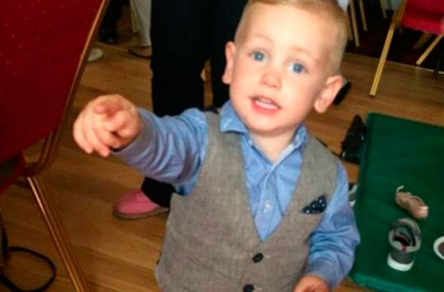 Two-year-old Jacob Jenkins has died