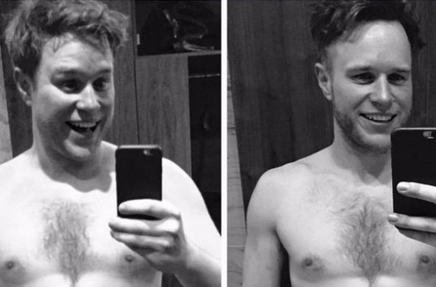 Olly Murs weight loss before and after