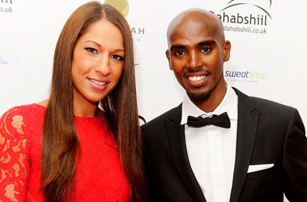 Mo Farah and Tania Farah welcome baby boy