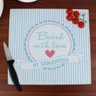 Personalised 'Star Baker' Chopping Board