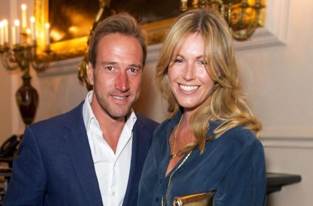 Ben Fogle and his wife Marina