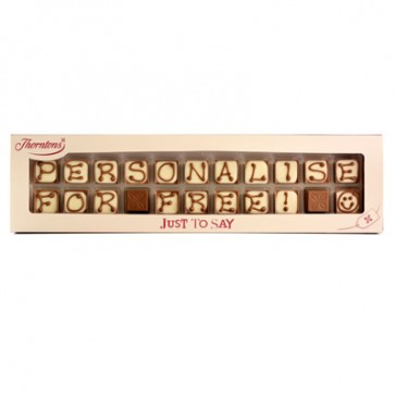Alphabet truffles