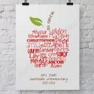 Perfect Teacher's Gift... Typography Art