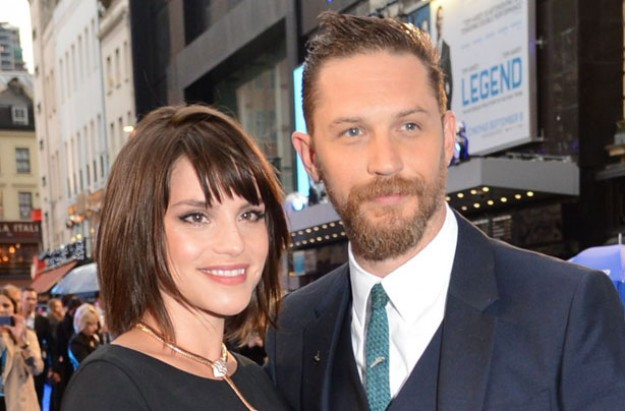 Tom Hardy and Charlotte Riley
