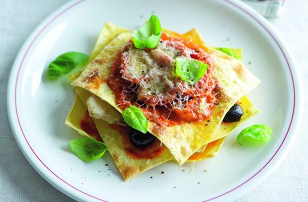 Antipasti open lasagne