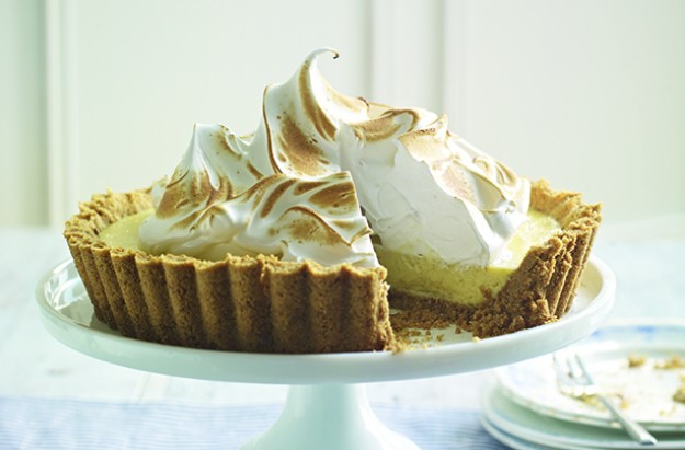 Classic key lime pie with meringue topping recipe - goodtoknow