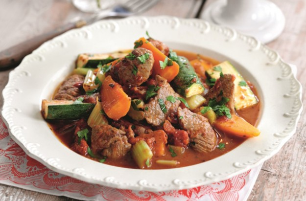 Slimming World's slow cooked lamb navarin