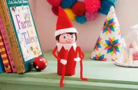 Make your own elf on a shelf