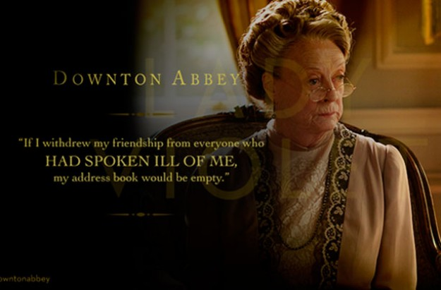 Lady Violet Crawley, Downton Abbey