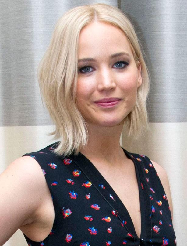 Jennifer Lawrence, best blonde hairstyles