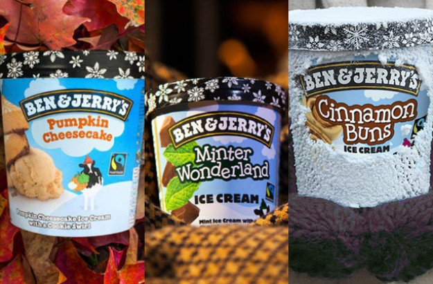 Ben & Jerry's winter flavours