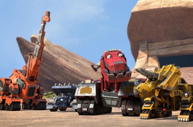 Dinotrux, Netflix 5 minute favourites