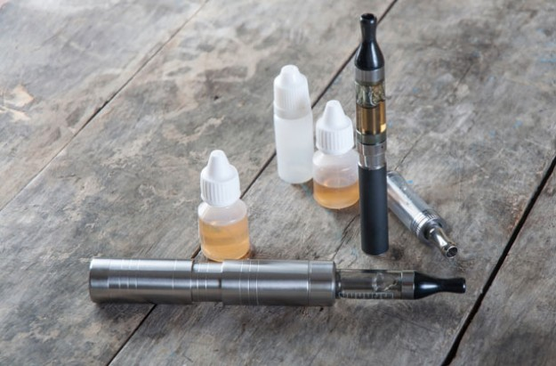 Toddler swallows e-cigarette liquid