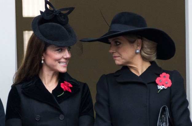 Kate Middleton, Remembrance Sunday November 2015