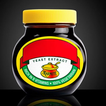 Personalised Marmite jar