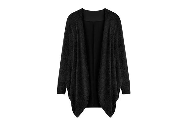 Lurex Kimono (£29)