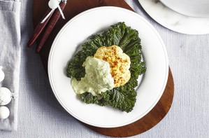 Lebanese cauliflower with herby tahini