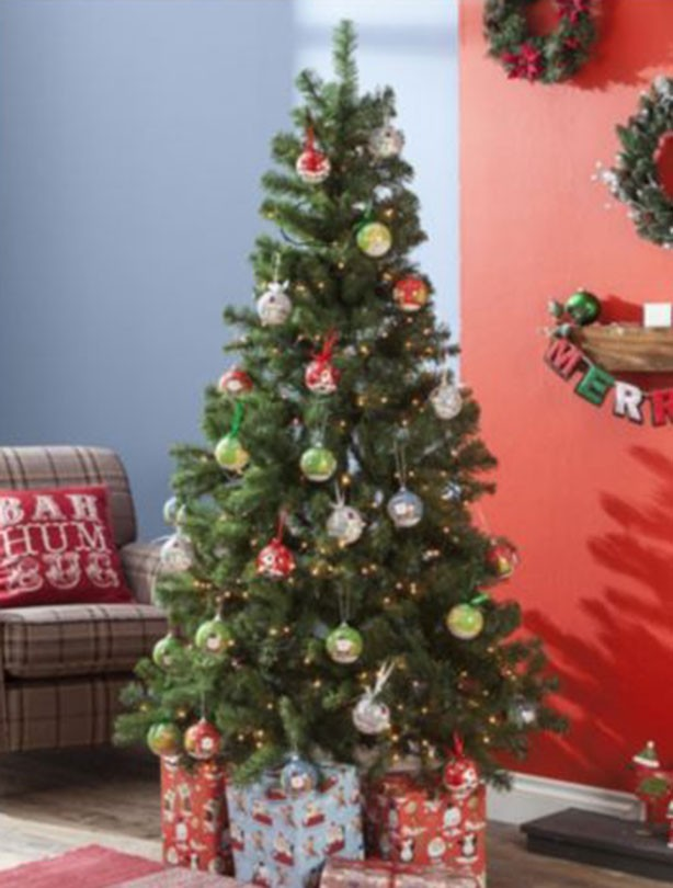 6ft Pop Up Christmas Tree