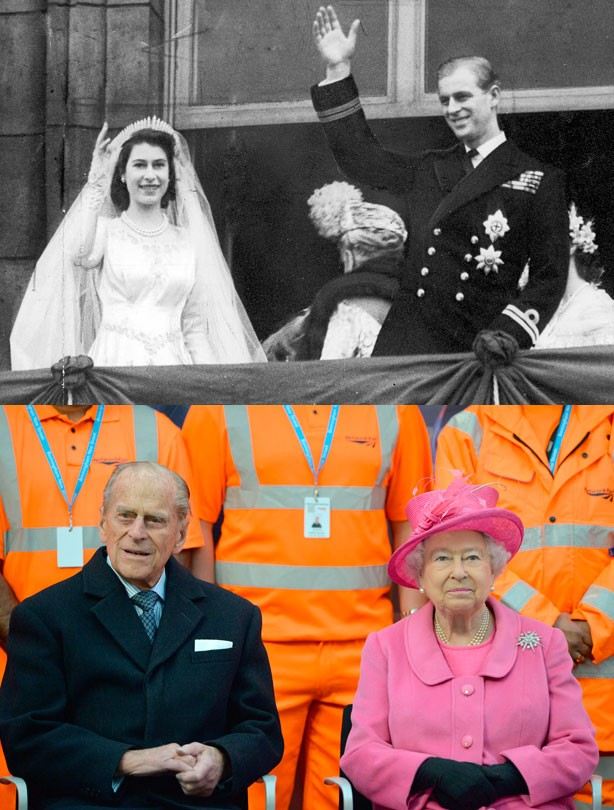 The Queen and Prince Phillip, wedding anniversary