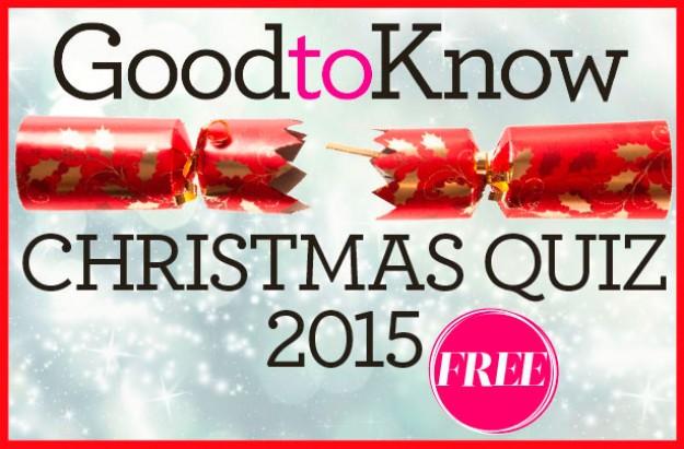 GoodtoKnow Christmas quiz logo 2015