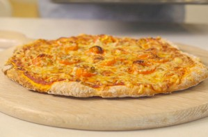 Two-ingredient pizza dough