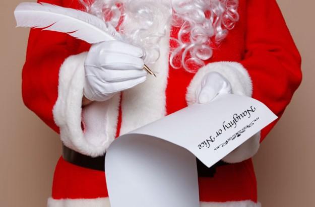 Santa Claus, Father Christmas, naughty list