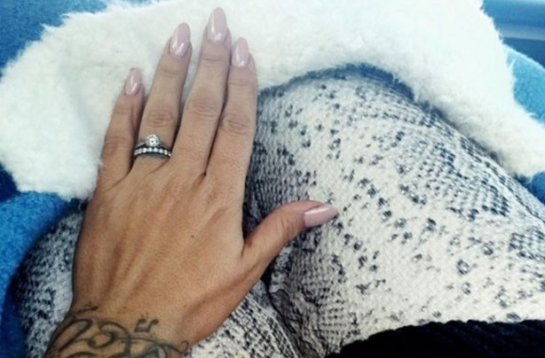 Celebrity engagement rings: Jodie Marsh