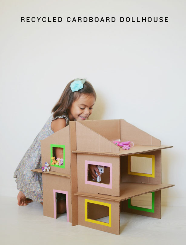 22 incredible kids toys you can make from cardboard boxes for Craft box for toddlers