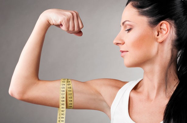 How to tone your arms, bingo wings