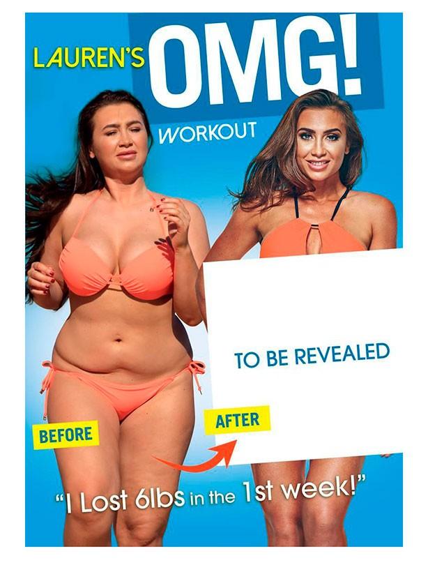 Fitness DVD Lauren's OMG! Workout