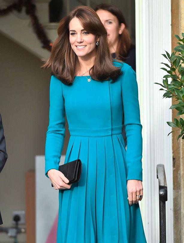 Kate Middleton Action on Addiction, Wiltshire; 10 Dec 2015