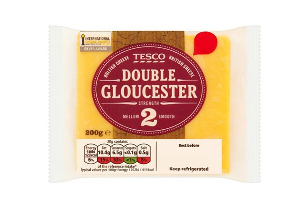 Tesco Double Gloucester Cheese
