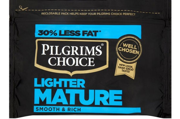 Pilgrims Choice Lighter Mature Cheddar
