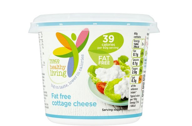 Tesco Healthy Living 0% Fat Cottage Cheese