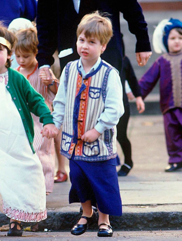 Prince William as an innkeeper, nativity
