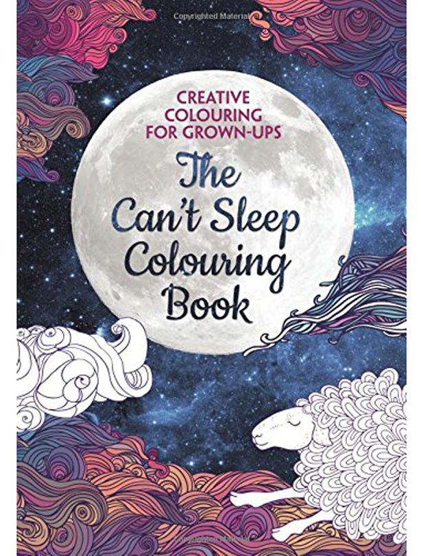 The Cant Sleep Colouring Book Creative For Grown Ups By Various Authors